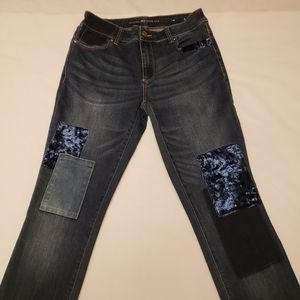 Chico's Patchwork Jeggings  00R